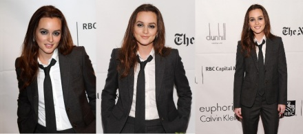 Leighton Meester attends The 20th Annual Gotham Independent Film Awards In NYC