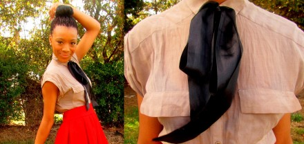 Red Skirts and Black Bows